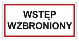 Obrazek dla kategorii Wstęp wzbroniony (813-02)