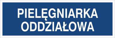 Pielęgniarka oddziałowa (801-245)
