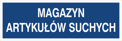 Magazyn artykułów suchych (801-118)