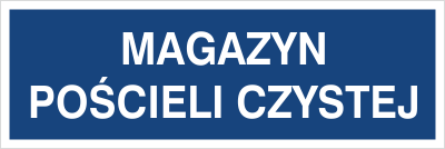 Magazyn pościeli czystej (801-139)