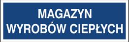 Obrazek dla kategorii Magazyn wyrobów ciepłych (801-146)