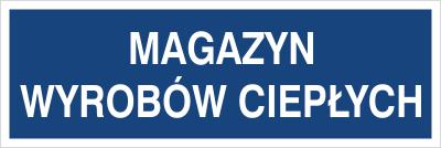 Magazyn wyrobów ciepłych (801-146)