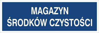 Magazyn środkó czystości (801-148)