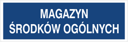 Obrazek dla kategorii Magazyn środków ogólnych (801-149)