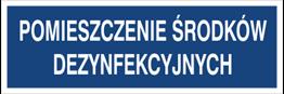 Obrazek dla kategorii Pomieszczenie środków dezynfekcyjnych (801-154)