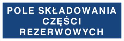 Pole składowania części rezerwowych (802-02)