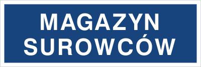 Magazyn surowców (802-03)