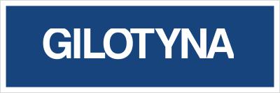 Gilotyna (802-04)