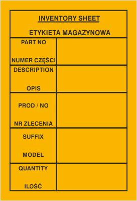 Etykieta magazynowa (802-60)