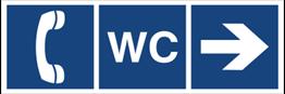 Obrazek dla kategorii WC, telefon (kierunek w prawo) (865-01)