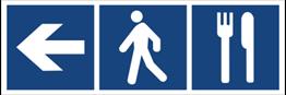 Obrazek dla kategorii Restauracja (kierunek w lewo) (865-09)