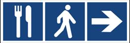 Obrazek dla kategorii Restauracja (kierunek w prawo) (865-10)
