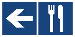 Obrazek dla kategorii Restauracja (kierunek w lewo) (865-11)