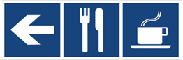 Obrazek dla kategorii Restauracja, kawiarnia (kierunek w lewo) (865-29)