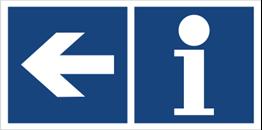 Obrazek dla kategorii Informacja (kierunek w lewo) (865-35)