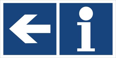 Informacja (kierunek w lewo) (865-35)