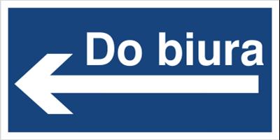 Do biura (kierunek w lewo) (865-38)