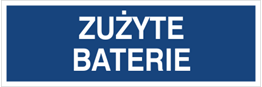 Obrazek dla kategorii Zużyte baterie (801-111)
