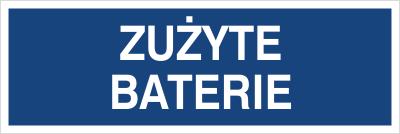 Zużyte baterie (801-111)
