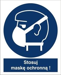 Obrazek dla kategorii Znak Stosuj maskę ochronną (423-01)