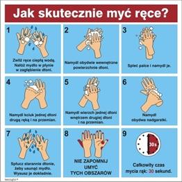 Obrazek dla kategorii Instrukcja mycia rąk 422-173