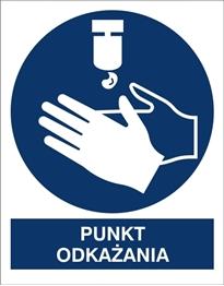 Obrazek dla kategorii Znak Punkt Odkażania (411-03)