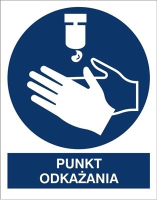 Znak Punkt Odkażania (411-03)