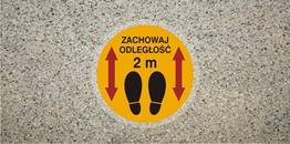 Obrazek dla kategorii Stop Zachowaj odległość 2m (ANTY013)