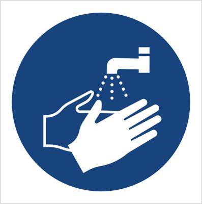 Znak Nakaz mycia rąk (M11)