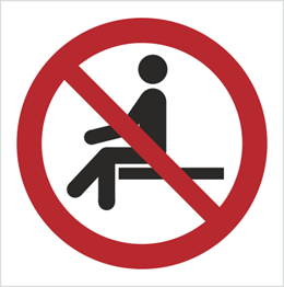 Obrazek dla kategorii Znak Zakaz Siadania (P18)