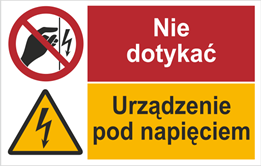 Obrazek dla kategorii Nie dotykać Urządzenie. (520-09)