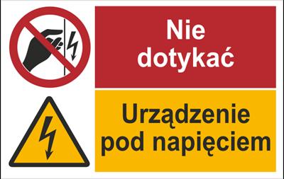 Nie dotykać Urządzenie. (520-09)