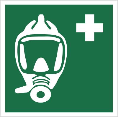 Znak Maska ucieczkowa (E29)