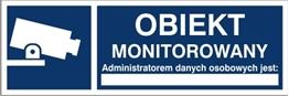 Obrazek dla kategorii Obiekt monitorowany, administratorem danych osobowych jest…  RODO (823-181)