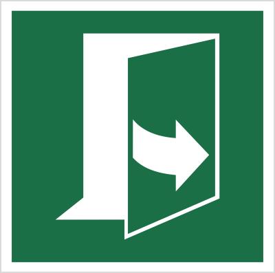 Znak Ciągnąć z lewej strony aby otworzyć (E57)