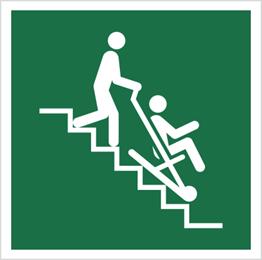 Obrazek dla kategorii Znak Krzesło ewakuacyjne (E60)