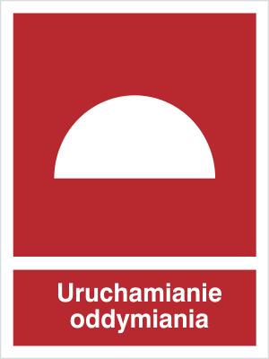 Znak Uruchamianie oddymiania (227-02)