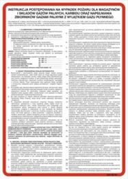 Obrazek dla kategorii 222 XO - 14 Instrukcja przeciwpożarowa dla stacji paliw płynnych (222 XO-14)
