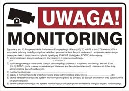 Obrazek dla kategorii Uwaga monitoring! RODO (823-182)