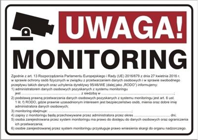 Uwaga monitoring! RODO (823-182)